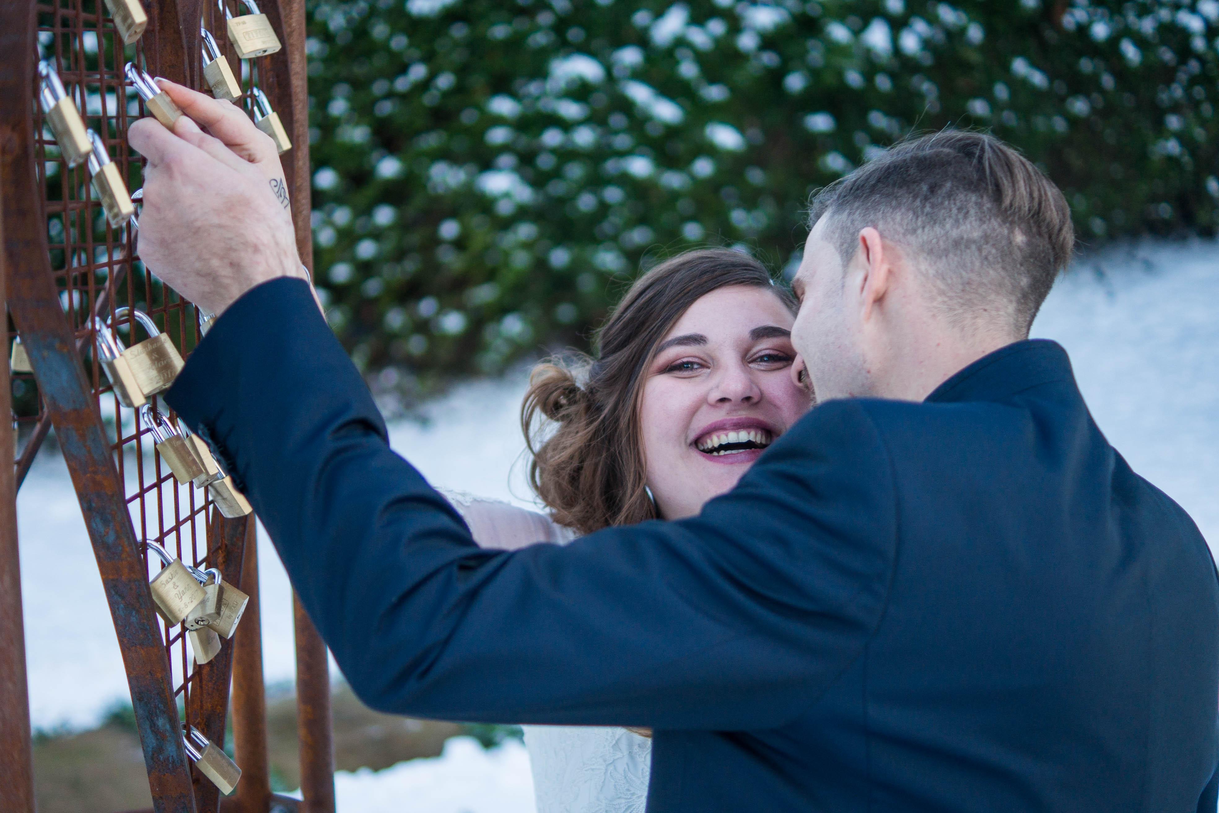 Un mariage en hiver – Maila et Francesco