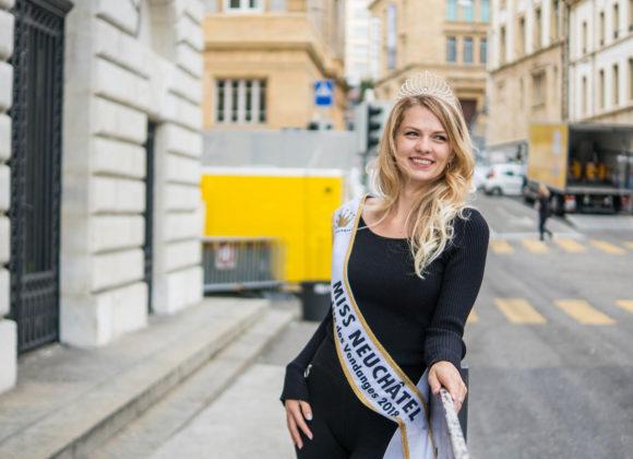 Estelle, Miss Fête des Vendanges Neuchâtel